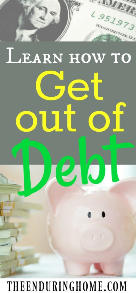 Learn how to get out of debt, debt free, money troubles, help with money