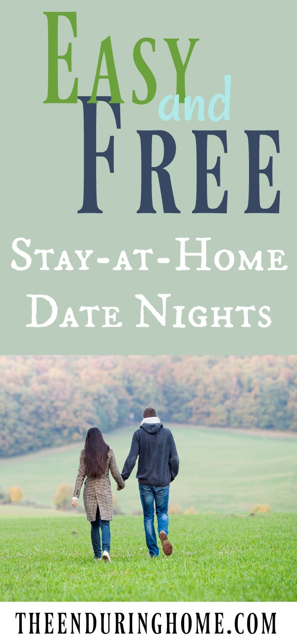 Stay at home date nights in Australia
