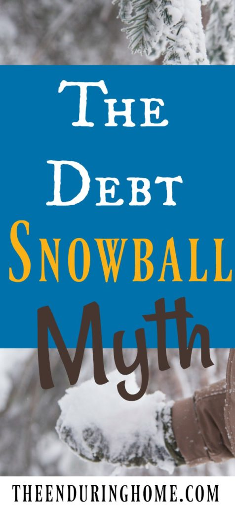 Debt, Debt snowball, getting out of debt, the debt snowball myth, being debt <em srcset=