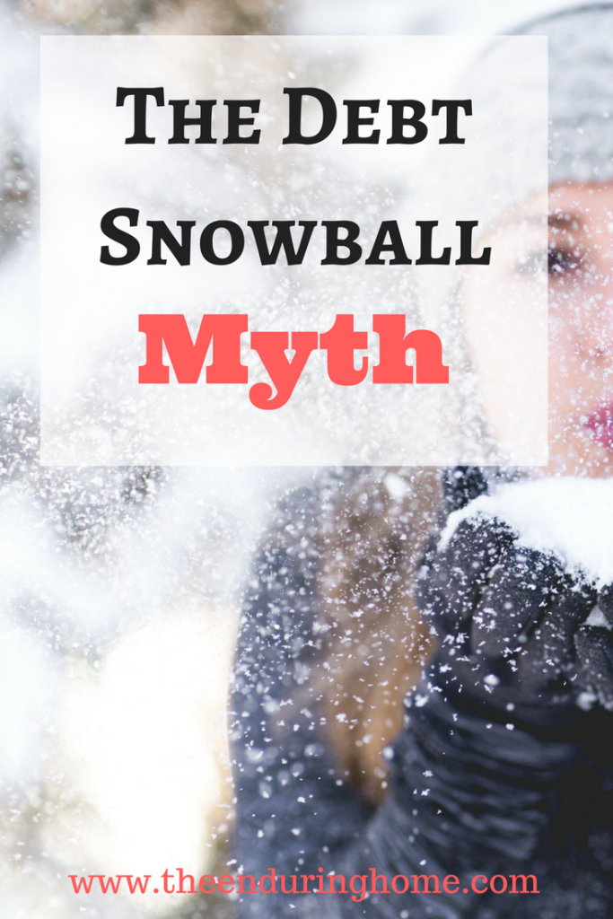 The Debt Snowball Myth