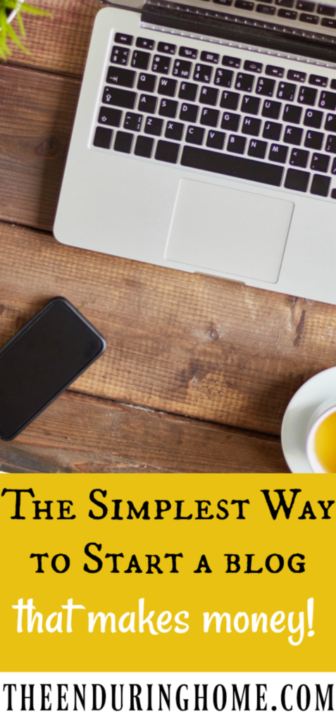 The Simplest Way to Start a Blog that Makes Money