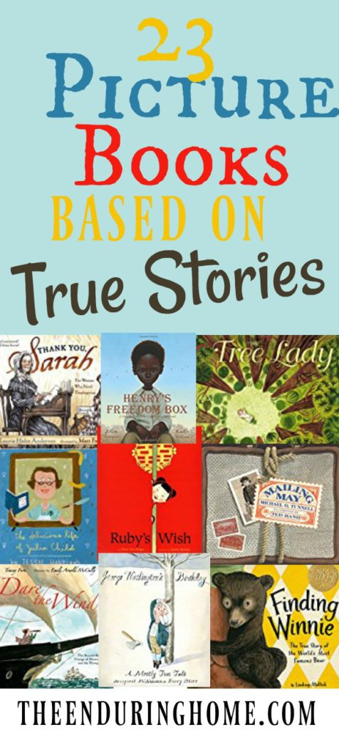 Picture Books, True Stories, Picture Books based on true stories, inspire kids, fantastic books